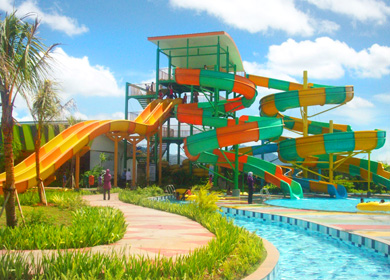 Cilegon Water Park | DIRRI ONLINE WISATA DI PULAU JAWA on